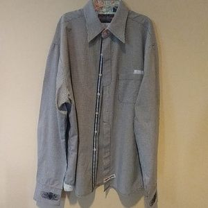 English Laundry Mens Casual Shirt